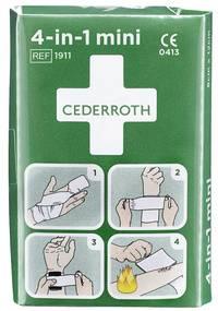 CEDERROTH 4-in-1 Blutstiller-Verband, mini