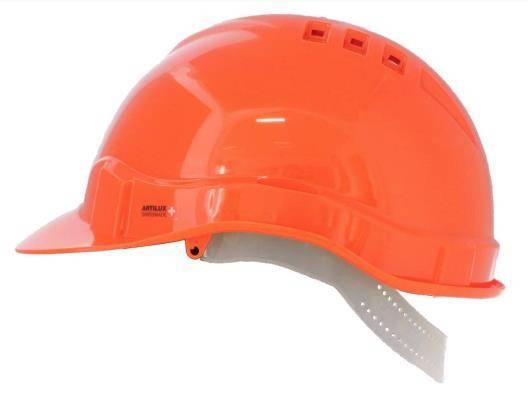 Schutzhelm verstellbar Articap II - orange