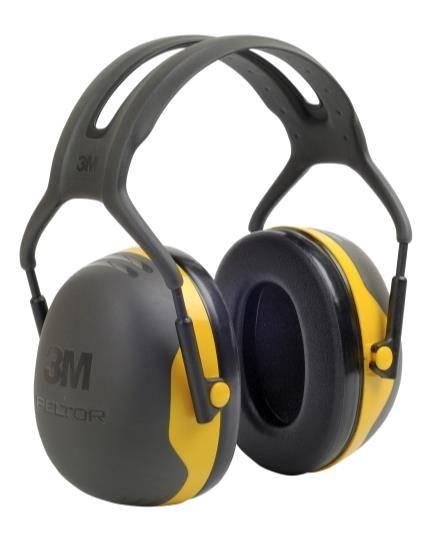 3M Kapselgehörschutz Peltor Optime X2 gelb mit Kopfbügel, SNR 31 dB