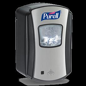 Purell Sensor-Desinfektionsmittelspender Schwarz - für LTX-7 Patronen